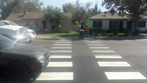 Fruitridge Road & 58th Street crossing
