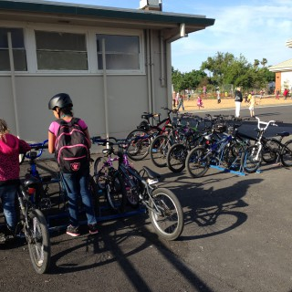 Ella Elementary Bike to School Day, May 13, 2015